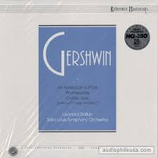 Gershwin, Reference Mastercuts 105, neu