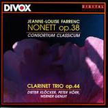 Farrenc: Nonet & Clar.- Trio / Consotium Classicum Divox CDX 29205