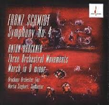 Franz Schmidt: Symphonie No. 4 Anton Brukner: Three Orchestral Movements Chesky CD143
