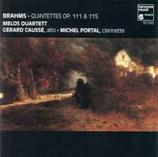 Brahms/ Quintettes op.111 & 115/ Melos Quartett/ HMD 941349