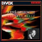 Leibowitz: Chamber Music / Ensemble Aisthesis Divox CDX 29303