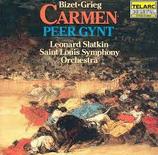 Bizet: Carmen Suite Grieg: Peer Gynt Suite Slatkin/ Saint Louis Symphony Orchestra Telarc CD-80048