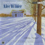 Eileen Farrell Sings Alec Wilder RR-36CD
