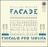 William Walton Facade - Chicago Pro Musica, Reference Recordings RR-17, neu
