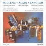 Poulenc Alain Langlais PRCD 9085