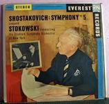 Shostakovich: Syphony No. 5 Op. 47, Stereo LPZ-2016, neu