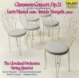 Chausson: Concert for Violin, Piano & String Quartet Maazel/ The Cleveland Orchestra String Quartet/ Margalit Telarc CD-80046