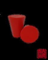 Universalstopfen rot ohne Bohrung