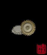 Kronkorken aus Eisen in Silber