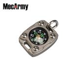 Boussole MecArmy CMP-2T en Titane couleur Sandblasted