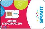 フィリピン Smart Bro データ通信SIMカード(300ペソリチャージカード付)