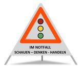 "Triopan ""Im Notfall Schauen-Denken-Handeln"""
