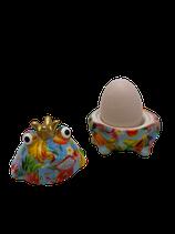 """Eierbecher Frosch """"Freddy"""" - blau"""