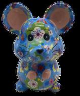 """Petit """"Martha"""" blau mit Blumen   - NEUHEIT -"""