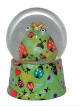Schneekugel grün (1 Stück)
