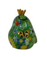 """Petit Vogel """"Fiona"""" grün mit kleinen Blumen"""