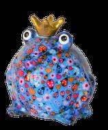 "Petit Frosch ""Freddy"" blau mit Blumen"