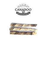 Canadoo 100% natürliche Fischstangen getrocknet lang 5Stk.