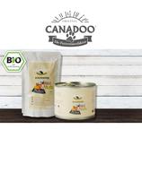 Canadoo Katzenfutter BIO-Rind mit Kürbis & Quinoa 150g