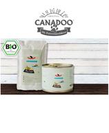 Canadoo Katzenfutter BIO-Fisch mit Reis & Spinat 150g