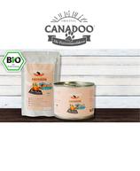 Canadoo Katzenfutter BIO-Huhn mit Karotten & Kokosflocken 150g