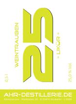 Weisser-Weintrauben-Vanille-Likör