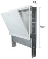 1258066 CLIMEA-CASSETTA W 660X620X80