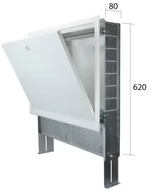 1258099 CLIMEA-CASSETTA W 990X620X80