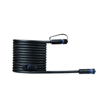 Paulmann Outdoor Plug & Shine Cable IP68 5m 1 in-2 out 2x1,5mm² Schwarz Kunststoff