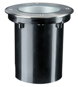 Paulmann Outd Plug & Shine Boden EBL IP67 675lm 4000K 6W 24V 38° schwenkb 20° Si Metall
