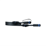 Paulmann Outdoor Plug & Shine Cable IP68 1m 1in-3out 2x1,5qmm Schwarz Kunststoff