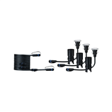 Paulmann Outdoor Plug & Shine Floor Mini Erg. Set IP65 3000K 3x2,5W 24V 55mm Silber