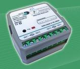KNX Datec Binäreingang 8-fach mit LED-Ausgang 4-fach und kombinierten Schalt-/Jalousieaktor 4-fach