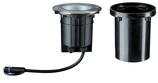 Paulmann Outdoor Plug & Shine Boden EBL IP67 609lm 3000K 6W 24V 38° schwb 20° Si Met