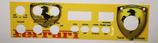 Mascerine Adesive PVC LUCIDO per President Jackson / Grant, Zodiac Tokyo e simili