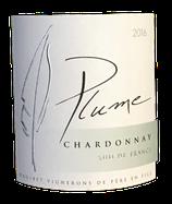 """Chardonnay """"Plume"""" 9%Vol., IGP Pays de l'Hérault 2016 75cl, (La Colombette)"""