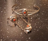 Bracelet esclave Corail