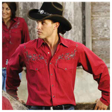 Chemise western cowboy Clyde