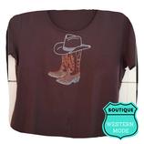 Tee shirt santiag-hat