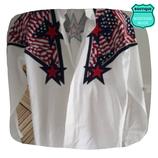 Chemise Usa étoiles