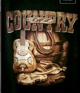 Tee-shirt Keep it country