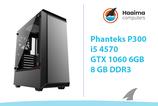 Phanteks P300 > GTX1060 6GB > i5 4570 > 16GB