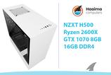 NZXT H500 > GTX1070 Ti 8GB > R2600X > 16GB
