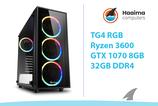 TG4 RGB GAMING > GTX1070 8GB > R 3600 > 32GB