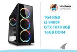TG4 RGB GAMING > GTX1070 8GB > i5 9400F > 16GB
