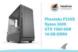 Phanteks P350X > GTX1060 6GB > R2600