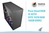 Pure STEEL RGB! > GTX1070 8GB > i5 4570 > 16GB