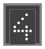 Z-ÖBB Geschwindigkeitsanzeiger - 1:160 - BAUSATZ