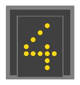 HO-ÖBB Geschwindigkeitsvoranzeiger - 1:87 - BAUSATZ