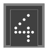 DB Zs auf eigenem Rundmast (Zs3/Zs6/Zp9) -  1:87 BAUSATZ
